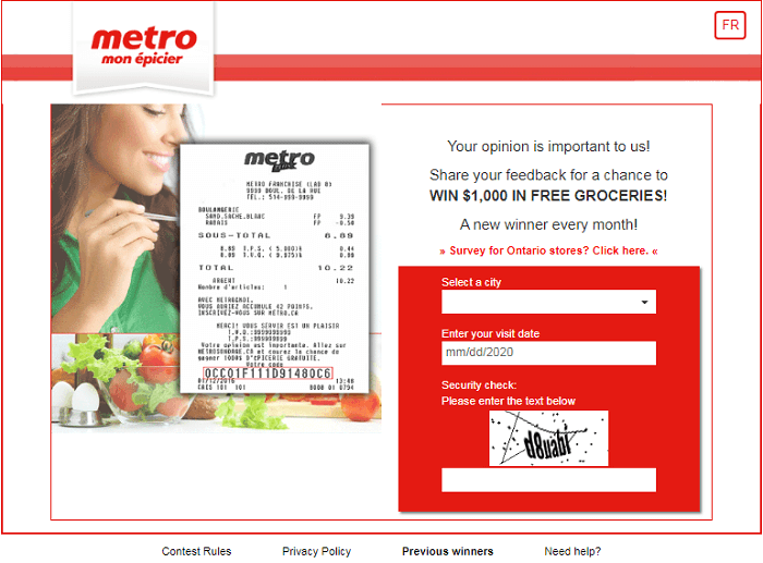 Metro Quebec Survey