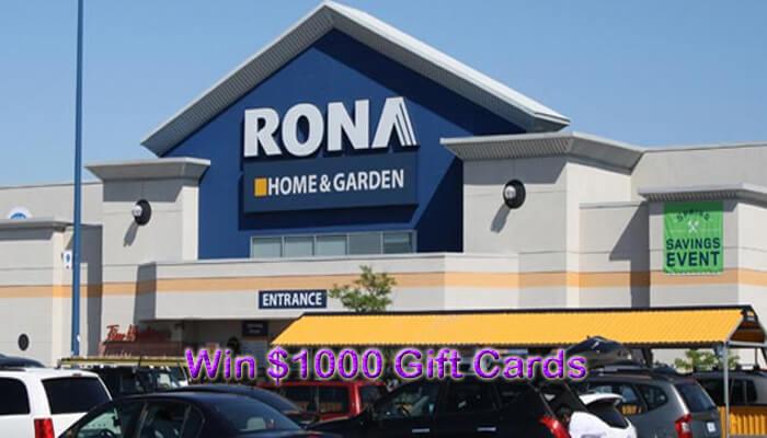 RONA Canada Customer Survey