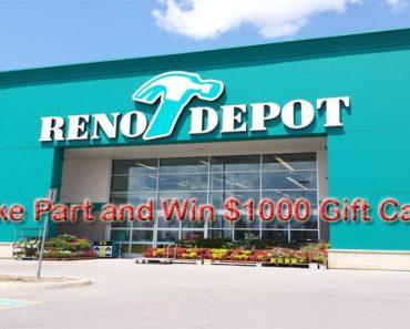 Reno Depot Survey