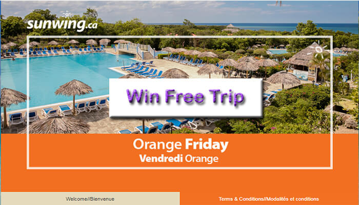 Sunwing Orange Friday Survey
