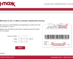 T.J Maxx Customer Survey