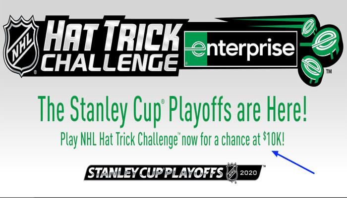NHL Hat Trick Challenge Survey