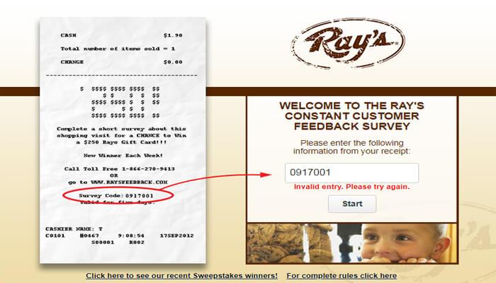 Ray's Survey
