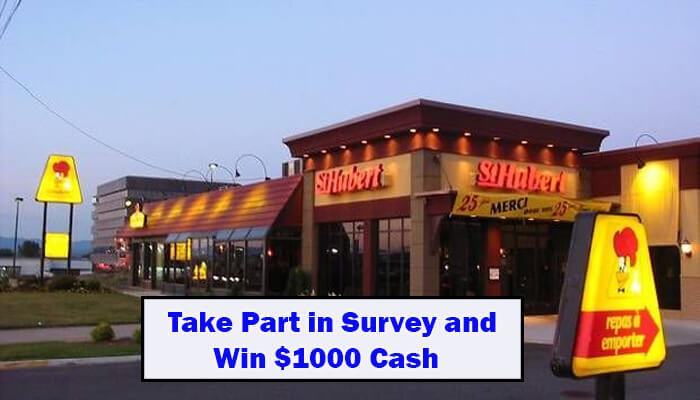 St Hubert Customer Survey