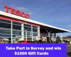 Tesco Customer Survey