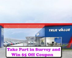 True Value Survey