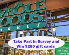 Whole Foods Feedback Survey