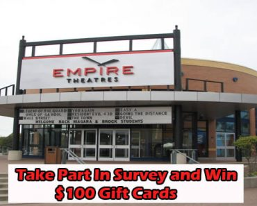 Empire Theatres Survey