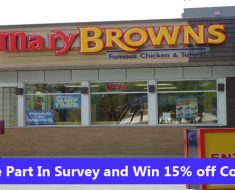 Mary Brown's Survey