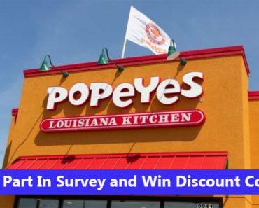 Popeyes Canada Survey