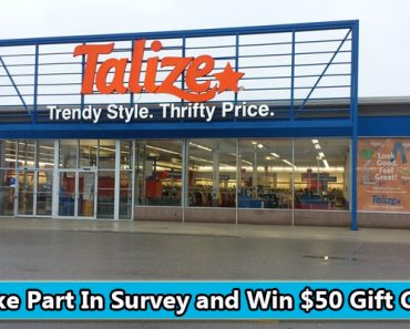 Talize Thrift Survey