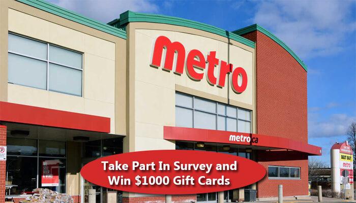 Metro Ontario Survey