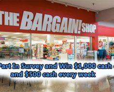 Bargain Shop Listens Survey