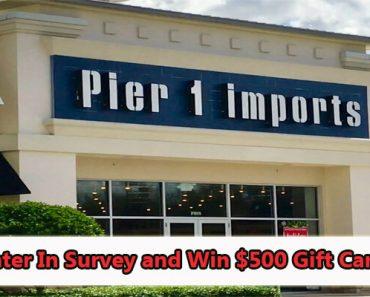 Pier 1 Imports Canada Survey