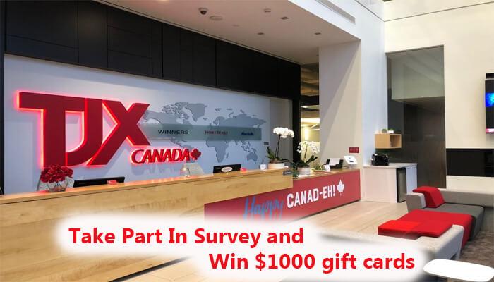 TJX Canada Survey