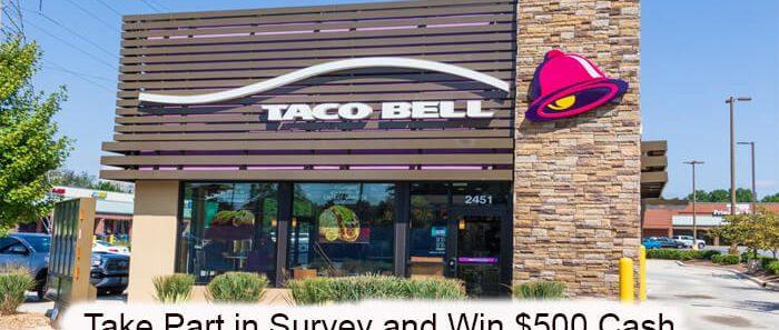 Taco Bell Canada Survey
